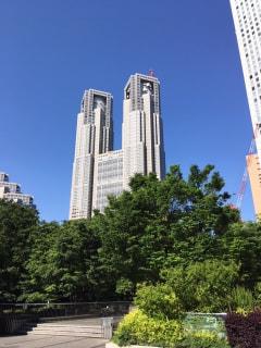 朝の西新宿